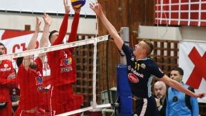 Монтана измъкна полуфинал №1 срещу ЦСКА след драми и скандали (снимки)