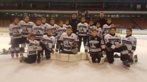Децата на Славия със злато на международен турнир по хокей