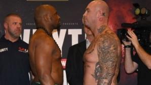 Лукас Браун е по-тежък с 4 кг от Дилиън Уайт (видео + галерия)