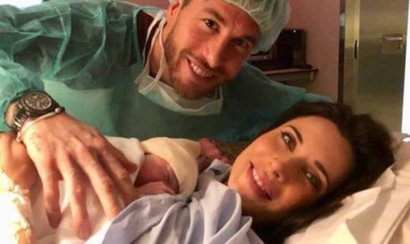 Серхио Рамос стана баща за трети път