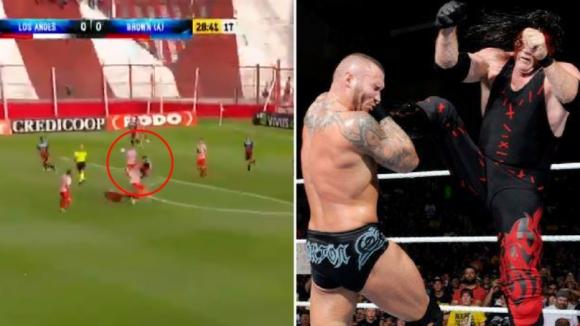 Футбол или ММА? (видео)