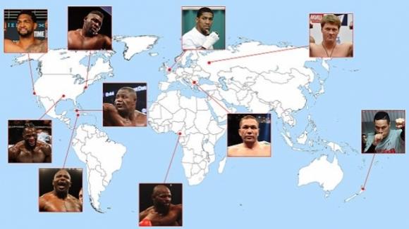 България, Нова Зеландия, Камерун - няма граници за професионалния бокс