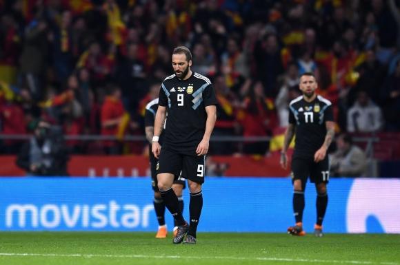Аржентина губи за трети път в историята си с 1:6