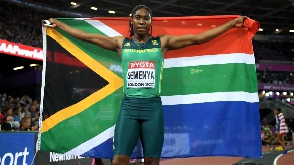 Семеня ще носи знамето на Южна Африка на откриването на Игрите на Британската общност
