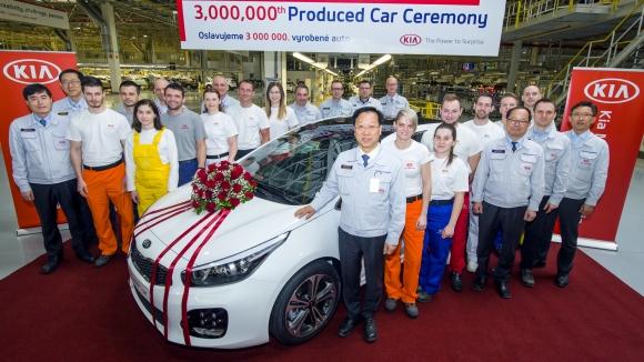 Kia произведе 3-милионния си автомобил в Европа