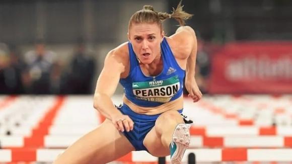 Сали Пиърсън страда от контузия, но се надява да бяга на игрите на британската общност