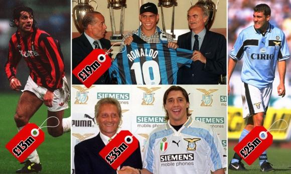 Днес ПЛ чупи трансферни рекорди, но през 1990-те го правеше Серия А