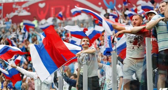 Руски студенти на протест срещу Световното