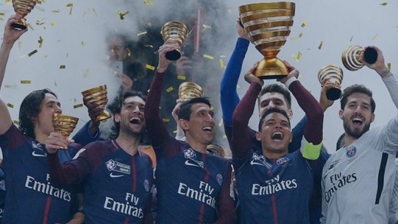 Монако не оказа съпротива, ПСЖ с пореден трофей (видео)