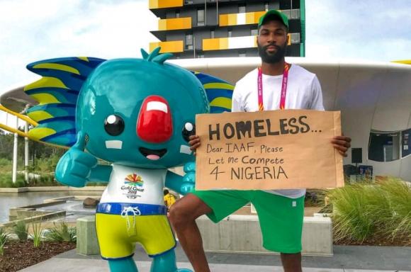 Атлет стачкува срещу IAAF на Игрите на Британската общност