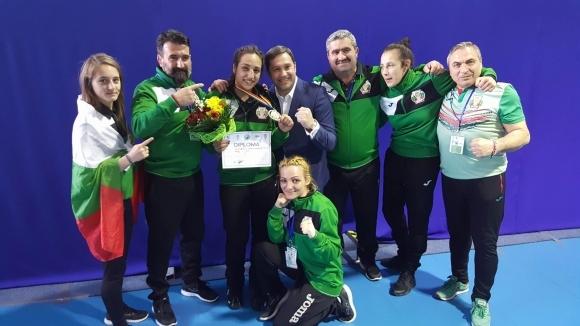 Йонузова спечели европейската титла по бокс в категория до 69 кг