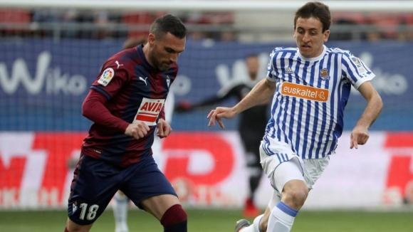Без голове в баското дерби между Ейбар и Реал Сосиедад (видео)