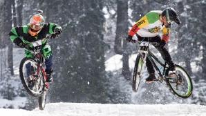 Колоездачи превзеха снежните писти на Пампорово за осма поредна година