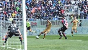 Торино съсипа Каляри за едно полувреме