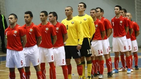 Националният отбор по футзал ще изиграе две контроли срещу Кипър
