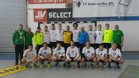 Силно представяне на хандбалистите ни в Унгария