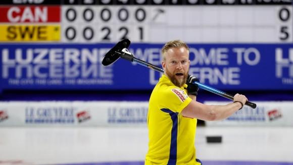Швеция спечели световната титла по кърлинг за мъжe (видео)