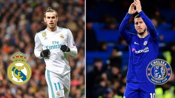 Челси иска Бейл и още един от Реал в замяна на Азар