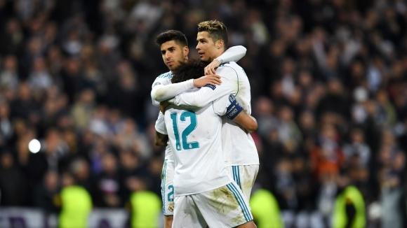 Реал счупи нов рекорд с 8-и пореден полуфинал в ШЛ