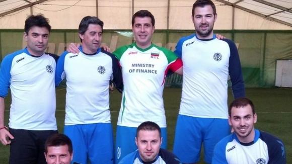 Боримиров се вихри на малки вратички в отбора на Министерството на финансите