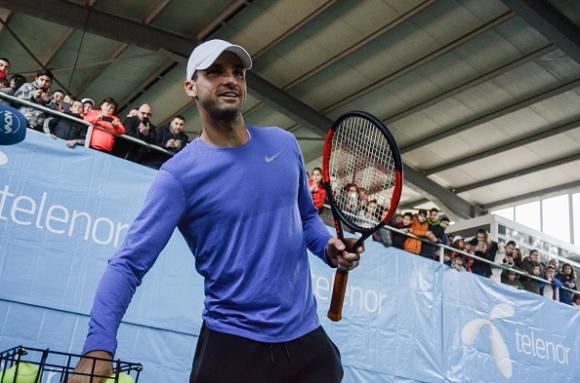 Григор тренира с Нишикори, ще играе и на двойки в Монте Карло