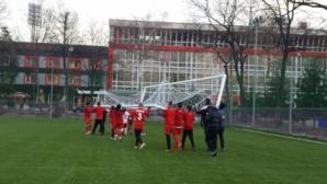 ЦСКА-София събира пари за нов терен