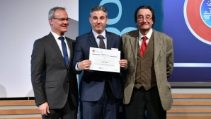 БФС се сдоби с дипломант от най-престижната магистратура в областта на спорта в Европа