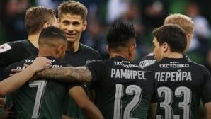 Краснодар не даде шанс на Арсенал, швед вкара гол-красавец (видео)