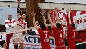 ЦСКА и Нефтохимик взеха решение за залата, третият мач се отлага с 4 дни