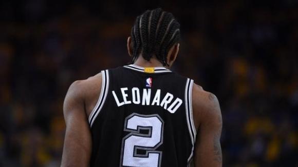 Кауай Ленард няма да играе за Сан Антонио в плейофите в НБА