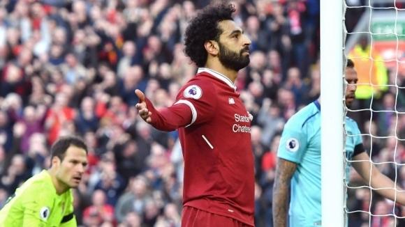 """Салах: Предпочитам трофея в Шампионската лига пред """"Златната обувка"""""""