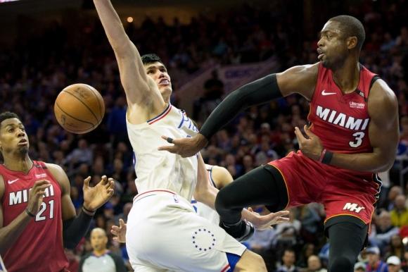 Маями прекъсна серията на Филаделфия от 17 поредни успеха в НБА