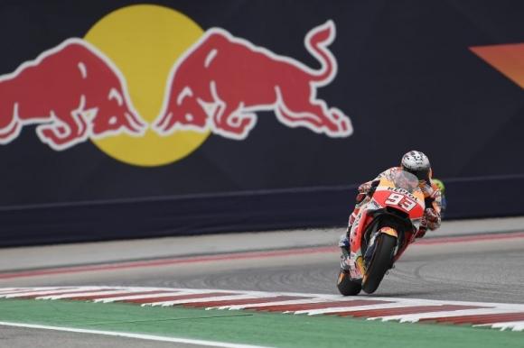 """Маркес спечели рекордния полпозишън в MotoGP на """"Остин"""", но ядоса Винялес (видео)"""