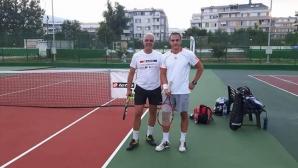 46 начинаещи спорят за титлата в категория 125 на вечерните тенис турнири