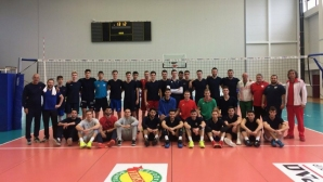 Волейболистите на България U20 с четири победи над Румъния