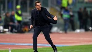 Ди Франческо: Трябва да бъдем още по-прецизни пред гола срещу Ливърпул