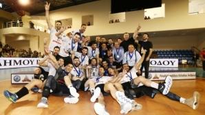 Николай Учиков и ПАОК спечелиха Купата на Гърция по волейбол (снимки)