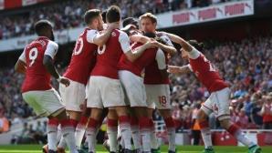 Арсенал - Уест Хам 4:1 (гледайте тук)