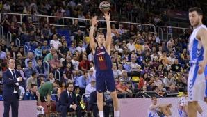 Силен мач на Везенков при победа на Барселона