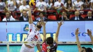 Цецо Соколов и Лубе загубиха финал №1 в Италия (видео)