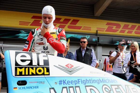 Шефът на сина на Шумахер във Формула 3: Той узря много в последните месеци