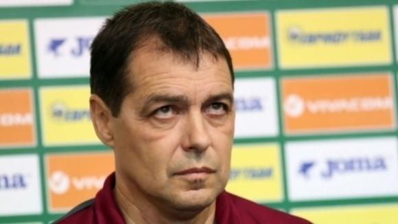 Хубчев: Съжалявам, че нямам възможност да доведа националния отбор на такъв мач (видео)