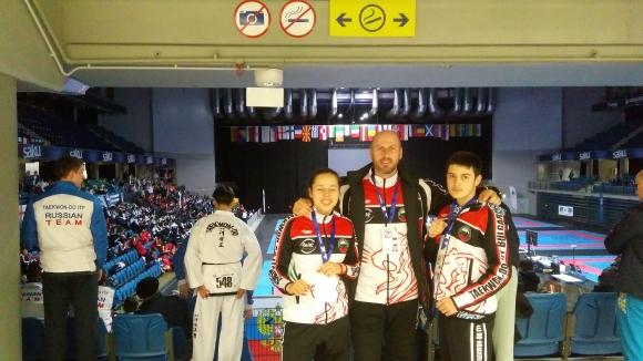 Състезателка от Банско стана европейска шампионка по Таекуон-До в Талин