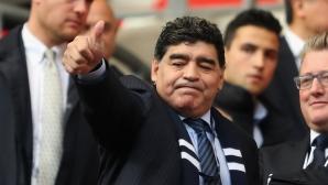 Марадона: Благодаря ти, Калиду Кулибали!!!