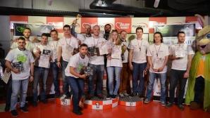 Рали шампионът Димитър Илиев и Лео Бианки се откроиха на благотворителен картинг турнир
