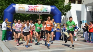 Благоевград приема лекоатлетически крос