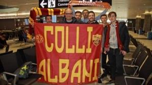 """""""Жълто-червена"""" вълна заля летището в Рим"""