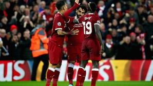 Триото на Ливърпул е по-резултатно от Меси - Суарес - Неймар