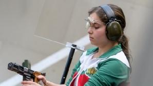Мирослава Минчева се класира 45-а на 10 метра пистолет