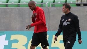 Голяма трагедия сполетя Фернандо Каранга часове преди мача с Левски